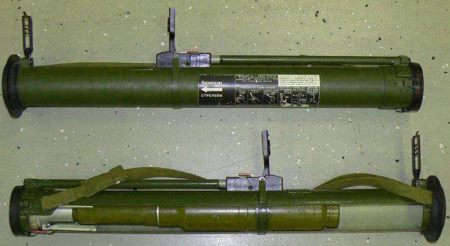 Гранатомет «Муха» РПГ-18. Смертельный укус   Техкульт