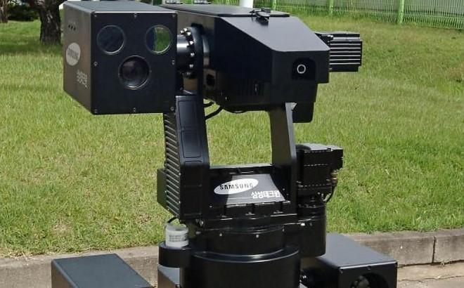 Робот-пограничник SRG-A1