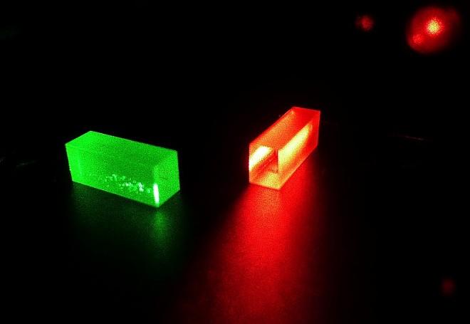 Кристаллы, где хранится информация