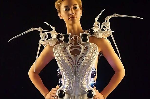 Платье-паук