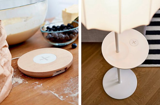 Wireless Chargers from Ikea