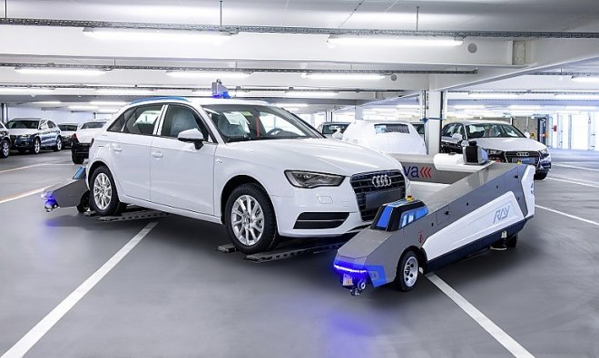 The robot-valet