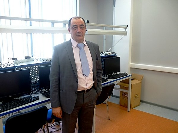 Project Manager Professor Evgeny Borisov