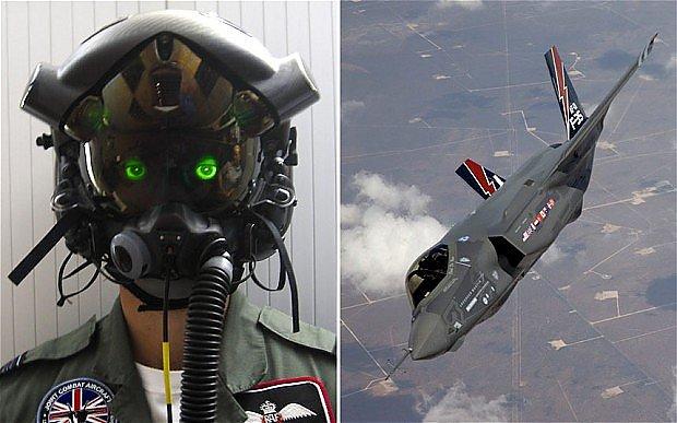 Helm of pilot F-35