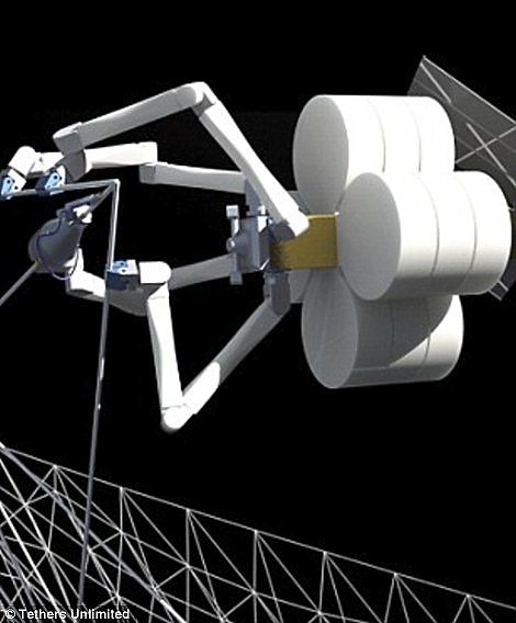 ISS will be building robots-spiders