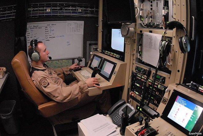 UAV control point