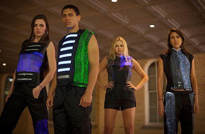 LED clothes of the future