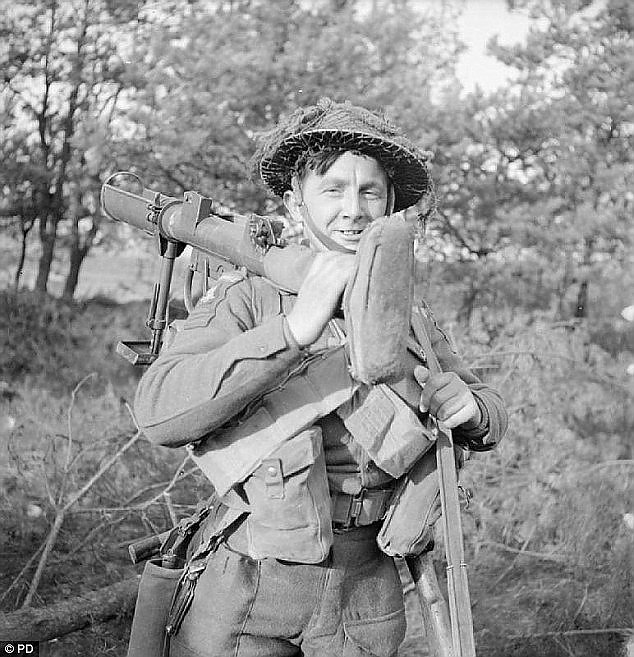British soldier with Anti-Tank