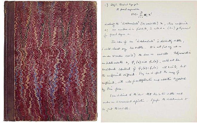 Alan Turing's manuscript