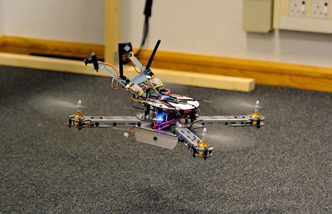 Беспилотник с электронным мозгом пчелы