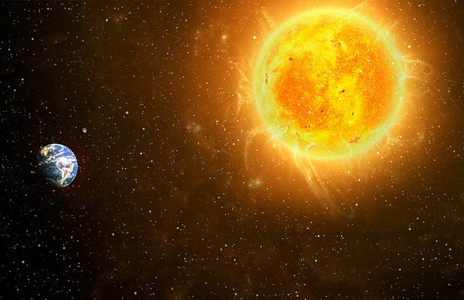 solnce 2 Самые интересные факты о нашей планете, о которых вы не знали раньше