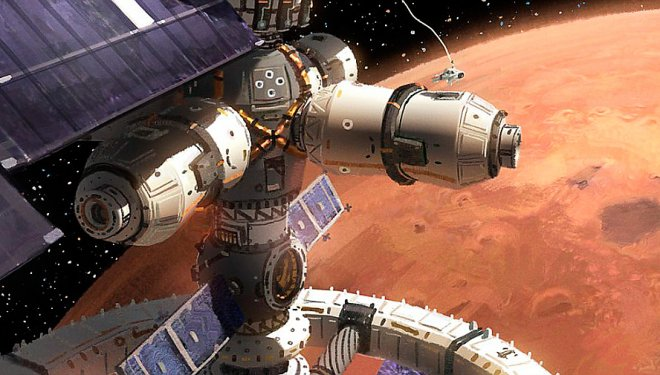 Station on Mars