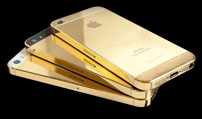 Golden iPhones