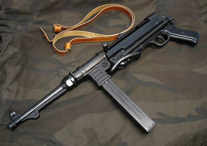 Автомат MP-40
