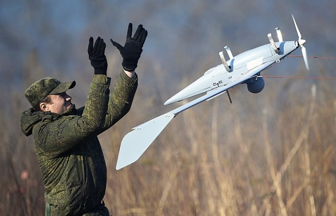 For the drones the future