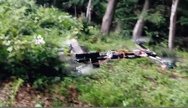 Quadrocopter with a gun