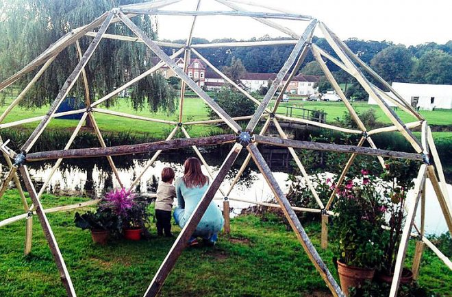 Homemade dome