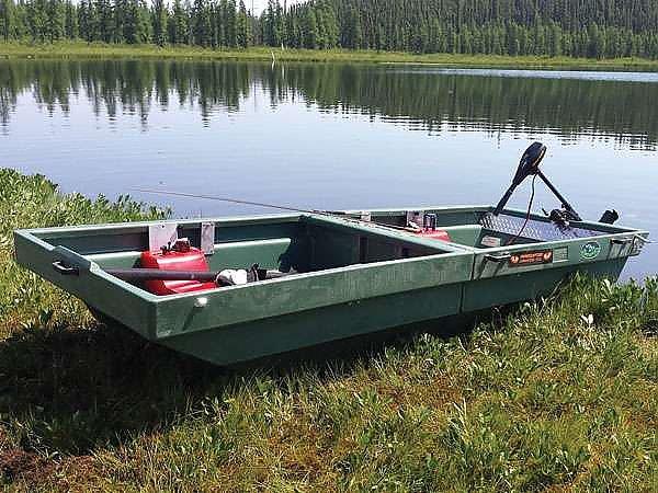 trailer Tetra-Pod - boat