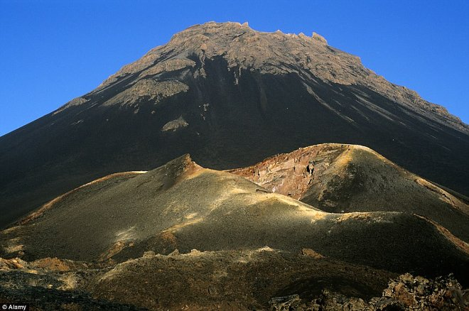 Вулкан Фого сегодня