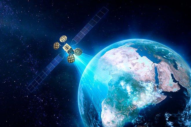 Amos-6 communication satellite
