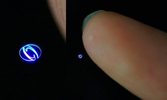 Contact hologram