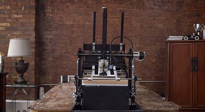 Writing robot