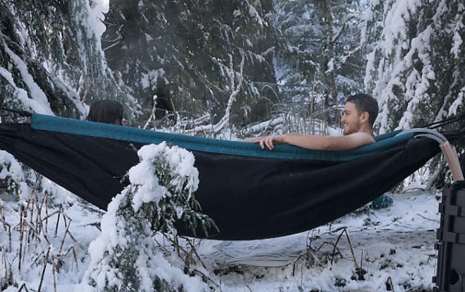 Bath-hammock