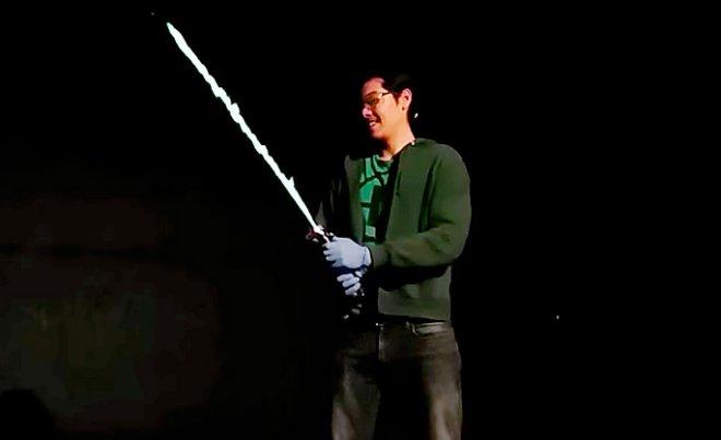 Газовый световой меч