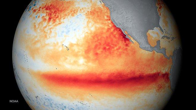 El Niño in the Pacific