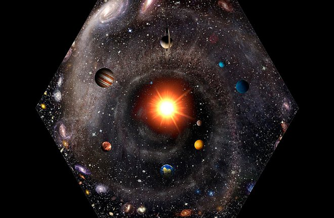 Picture of the Universe