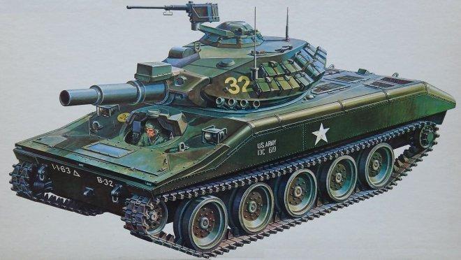 Tank m551 Sheridan