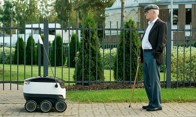 Starship Robot-Courier