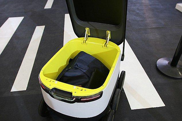 Robot-courier