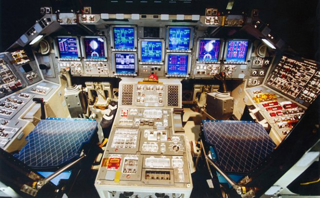 Shuttle Control Panels