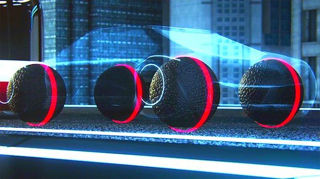 Spherical tires Goodyear