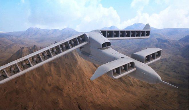 Основатель Google представил летательный аппарат - Цензор.НЕТ 2526
