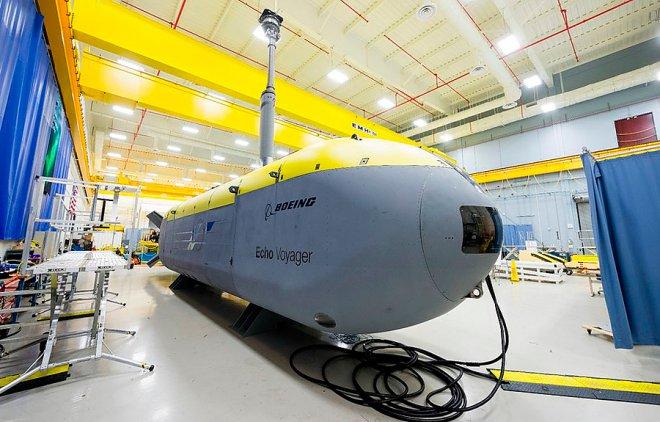 Submarine Boeing