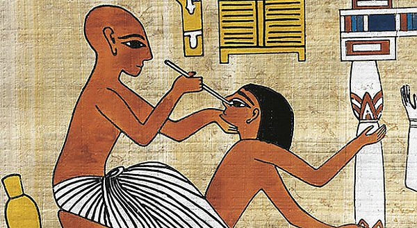 Operation in ancient Egypt
