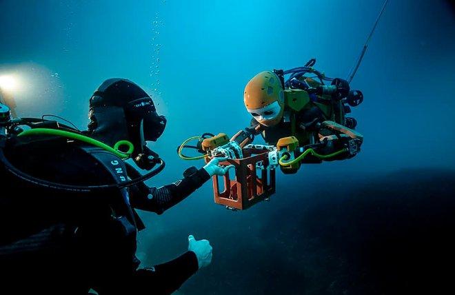 Underwater robot OceanOne