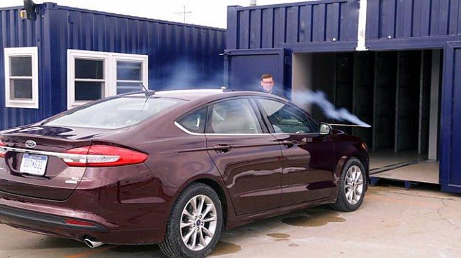Ford aerodynamic installation