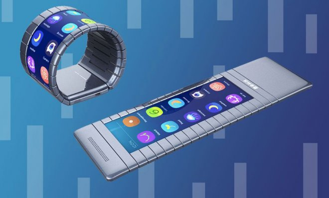 Folding smartphone Moxi