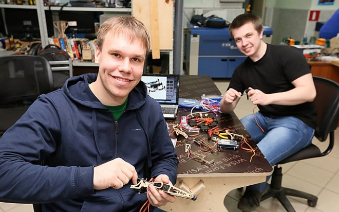 Разработка робота-паука