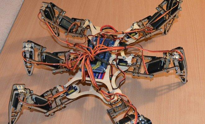 Робот-паук Андромеда