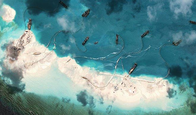 Китайские искусственные острова