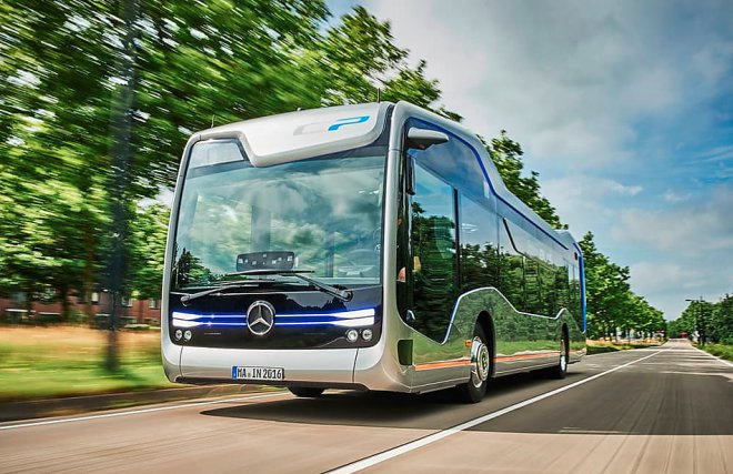 Mercedes Future Bus