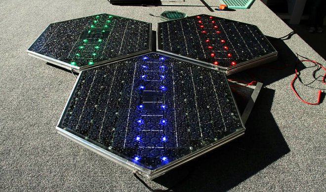Фрагмент Solar Roadways