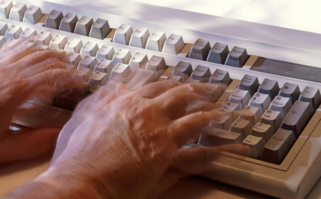 Keyboard for Parkinson's diagnosis