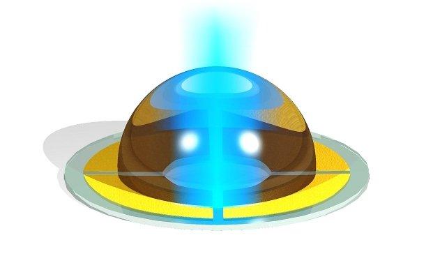 Liquid microlens
