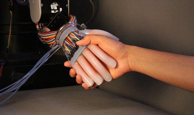 Tactile limbs