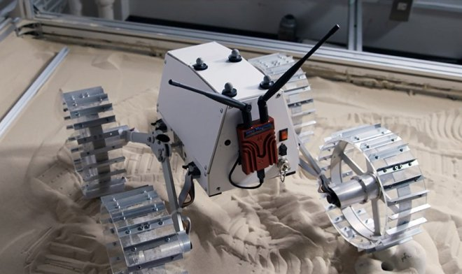 Rover for Lunar XPRIZE